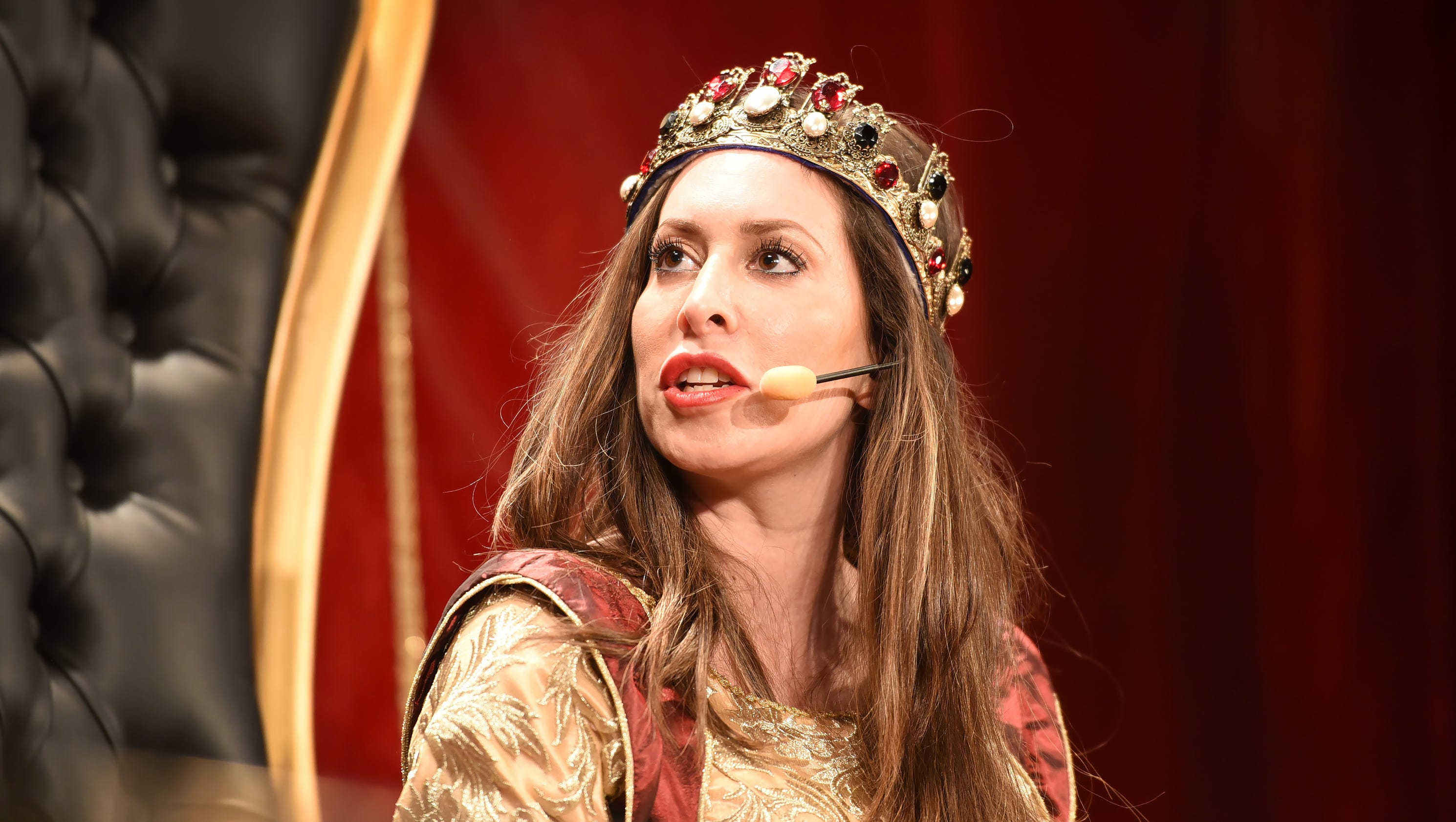 Medieval Times: For The First Time, A Queen Takes The Throne