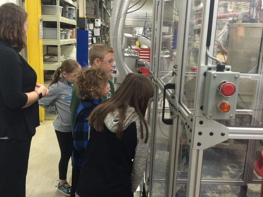 Education notes: Robotics club visits PolyFab
