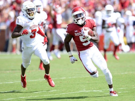 NCAA Football: Florida Atlantic at Oklahoma