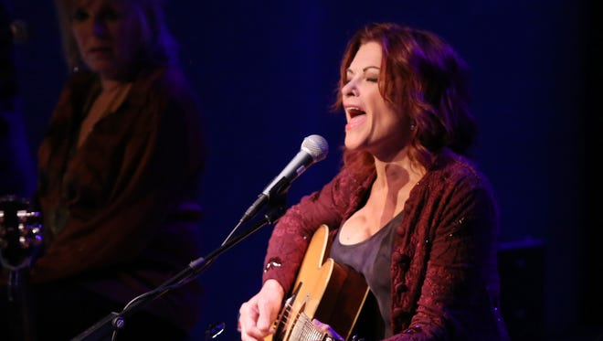 """Rosanne Cash will be performing in """"The Life and Songs of Kris Kristofferson"""" at Bridgestone Arena March 16, 2016."""