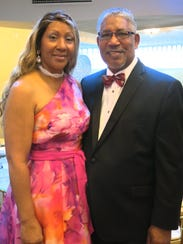 Norma Belton and her husband, Dr. Ray L. Belton, president