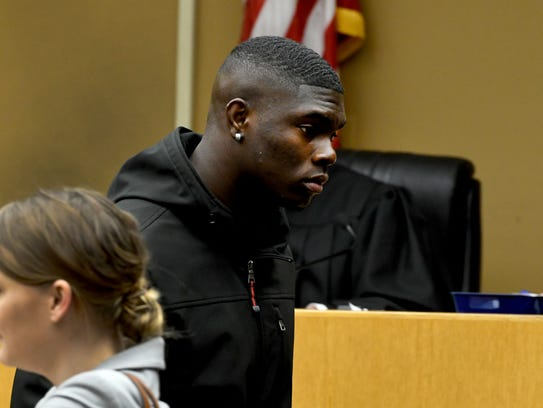 William Ignont leaves Knox County Criminal Court Tuesday,