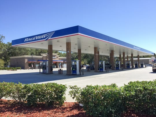 Two people were killed in a shooting Sunday at the Raceway gas station on U.S. 1 in Mims.
