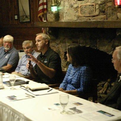 Russ Green, regional coordinator proposed Wisconsin-Lake