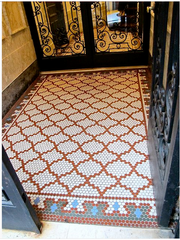 Some things like great patterns and beautiful tile