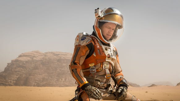 Matt Damon stars in 'The Martian.'