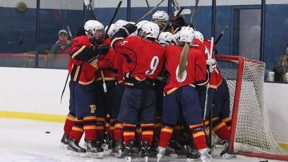 Pelham hockey beat Suffern 6-3 at Sport-O-Rama Jan.
