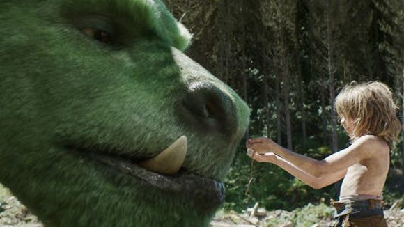 "Oakes Fegley plays Pete in Disney's ""Pete's Dragon."""
