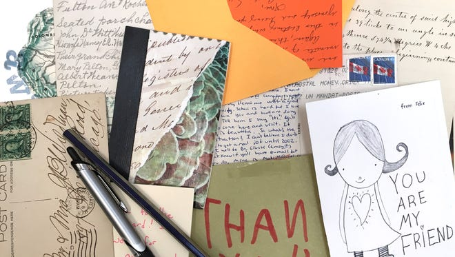 Get back into letter writing by making your own stationery.