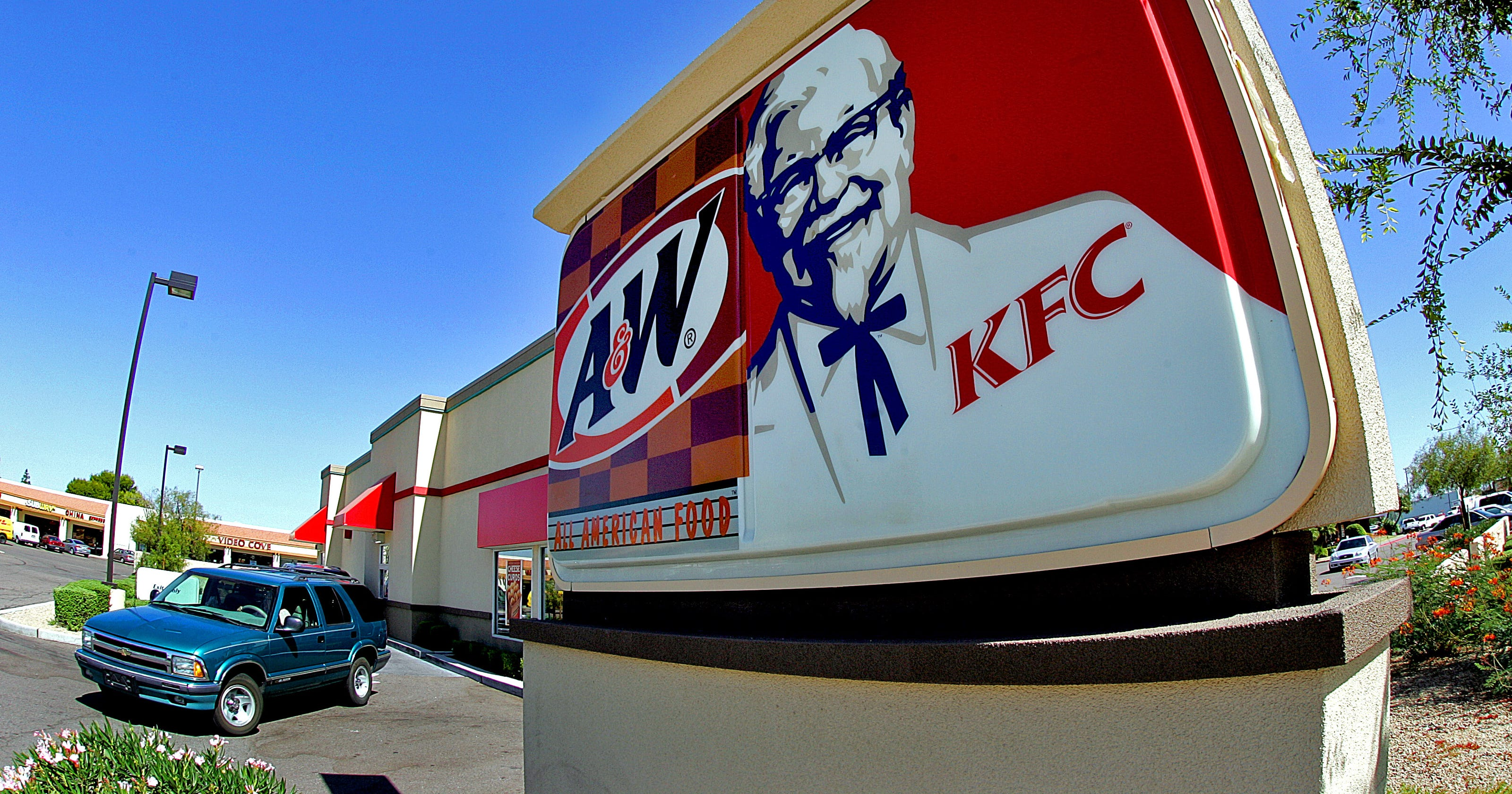KFC testing fried chicken delivery