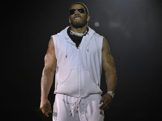 Rapper Nelly performs Friday night at the Palace of Auburn Hills.