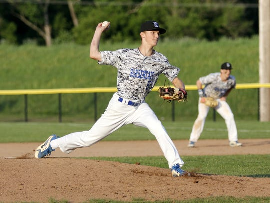 Trey Princiotto tossed a five-hitter for Horseheads