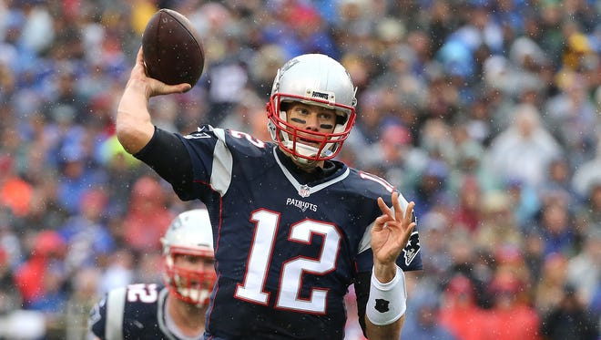 Tom Brady, shown here in this year's game at New Era Field on Oct. 30, is 26-3 against Buffalo, tying Green Bay's Brett Favre (vs. Lions) for most against one opponent in NFL history.