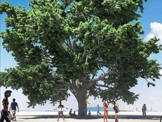 Tree of Tenere is a project planned for Burning Man
