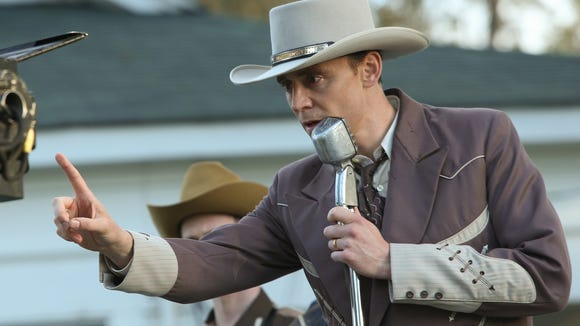Tom Hiddleston as Hank Williams, a guy who was known