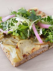 Great Northern Food Hall potato lovage flatbread photo Signe Birck 1 .jpg