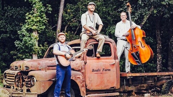 Winners of the 2016 Charleston City Paper Bluegrass Band of the year music award, Dallas Baker and Friends play a free show at Town Pump at 9:30 p.m. Sept. 30.