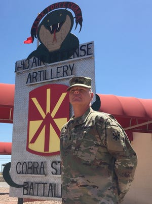 Command Sgt. Maj. Alan C. Jonason is the new senior enlisted leader for 1st Battalion, 43rd Air Defense Artillery Regiment.