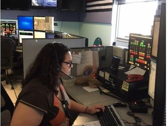 City of Mansfield-911-dispatcher-Ashley-Jeffrey.JPG