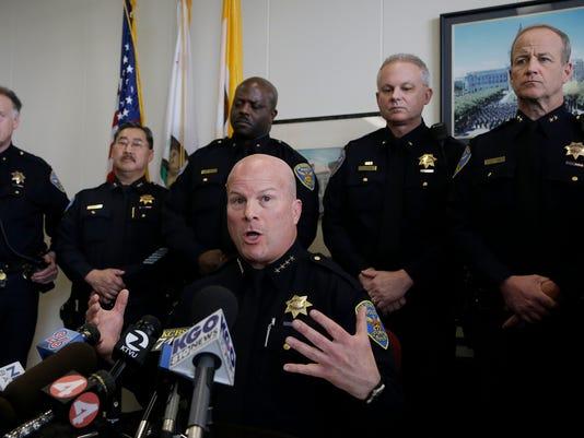 San Francisco Police Racist Texts