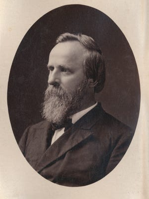Rutherford B. Hayes showed a good example as a father, according to an author that wrote about the former president.