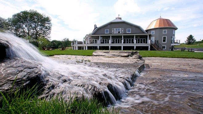 Bear Brook Valley, a new luxury rustic wedding venue in Fredon. It's the second venue opened in recent years after the Rock Island Yacht Club in Sparta, to be created by Boonton Township residents Perry and Michele Bonadies. June 22, 2017. Fredon, NJ.