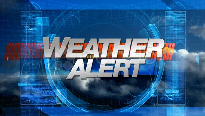 Winter Weather Warning in effect for the Twin Lakes Area beginning at 6 p.m. Sunday.