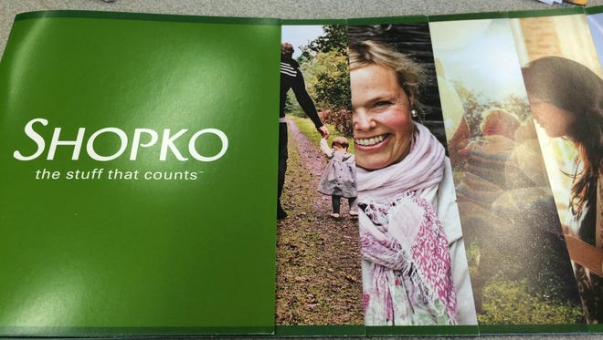 A marketing brochure produced by Shopko to celebrate its new brand rollout.