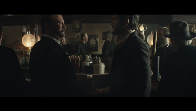 Tallahassee actor Billy Kelly, left, portrays Anheuser-Busch co-founder Eberhard Anheuser in a Super Bowl ad.
