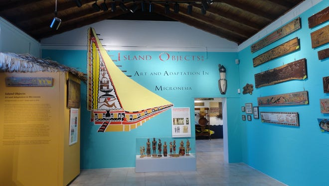 """Collected artifacts by anthropologist Barbara Wavell are on display at her curated exhibition, """"Island Objects."""""""