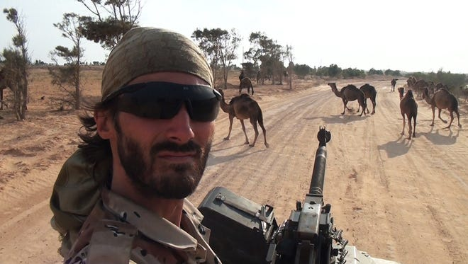 """Matthew VanDyke on adventure in Libya from his documentary """"Point and Shoot."""""""