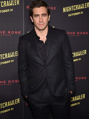 """Jake Gyllenhaal attends the """"Nightcrawler"""" New York Premiere at AMC Lincoln Square Theater on October 27, 2014 in New York City."""