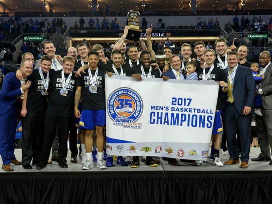 South Dakota State won the Summit League conference
