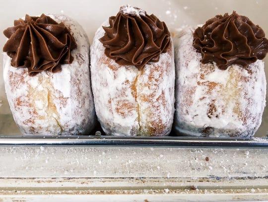 Kreme-filled doughnuts in Daily Dozen in Warren.