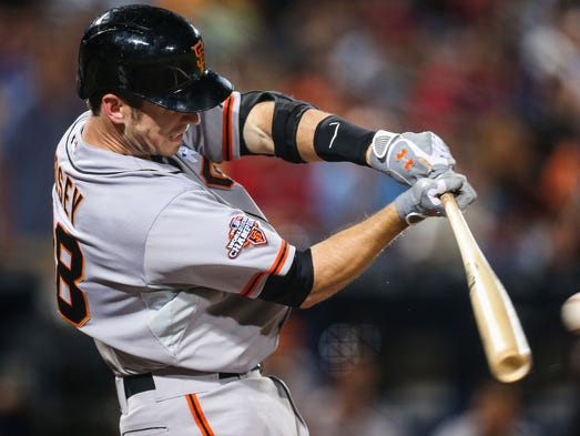 1. Buster Posey, San Francisco Giants.