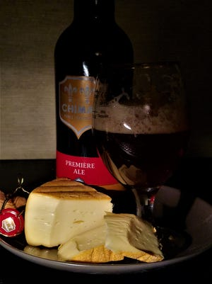 Chimay cheese and beer