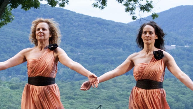 """Hudson Valley  Shakespeare's production of  """"The Tempest."""""""