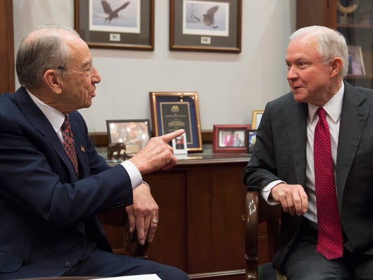 Charles Grassley, Jeff Sessions
