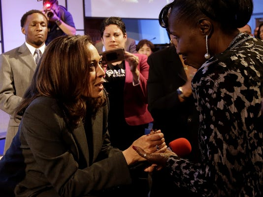 Kamala Harris, Sequita Thompson