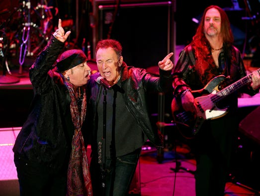 Image result for Bruce Springsteen Induct Steven Van Zandt Into New Jersey Hall of Fame