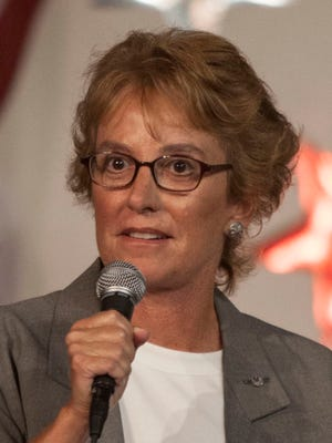 Democrats have demanded that Wendy Rogers stop airing an ad targeting her opponent, Rep. Kyrsten Sinema, that features footage of James Foley before he was beheaded.