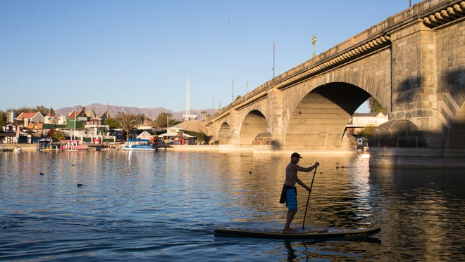 The temperature in Lake Havasu City can exceed 120 degrees several times in a year and the city often reports the highest daily temperature in the country.