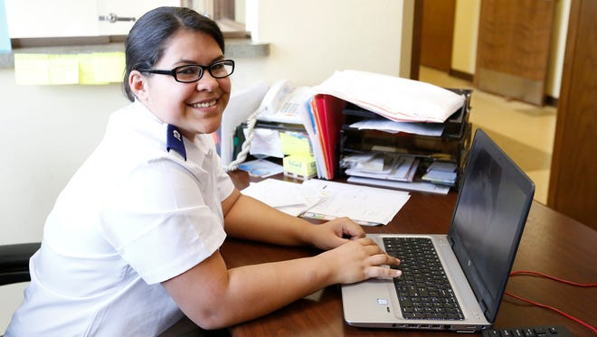 The Salvation Army's ministry intern Maria Diaz describes her journey in becoming an officer. She moved to Fond du Lac in January and will take the next step in answering her calling next year by attending the Salvation Army USA Central Territory College for Officer Training in Chicago, Illinois.