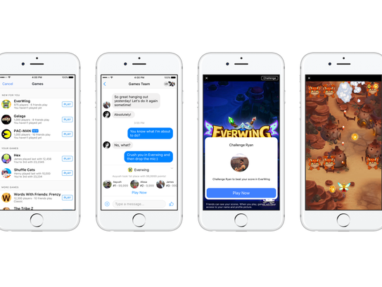 Games is the latest bid to increase engagement on Facebook