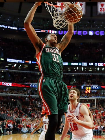 John Henson and the Bucks have refused to roll over