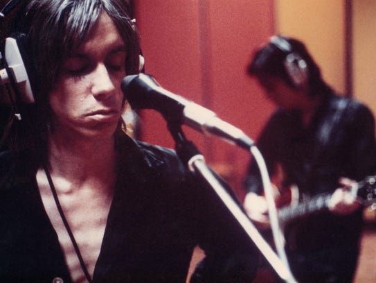 "A young Iggy Pop in ""Gimme Danger."""