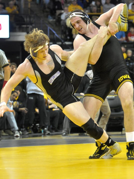 Iowa vs. Northwestern Wrestling
