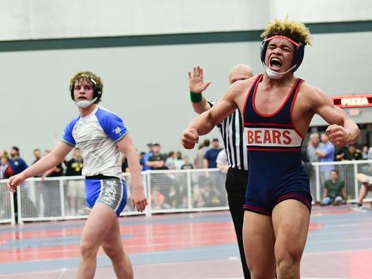 Bryson Scott (Belton-Honea Path) beat Spencer Wall
