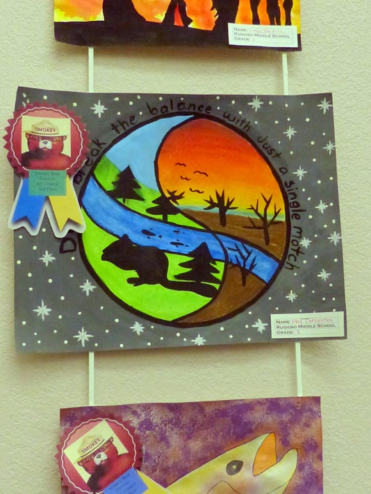 Wildfire Awareness Art Contest Winners Announced