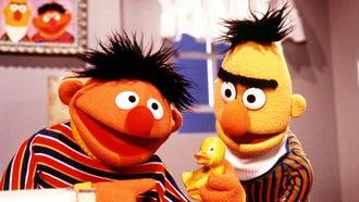 Bert and Ernie from Sesame Street